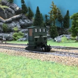 """Locotracteur Pousse Wagon """"Sole"""" motorisé ép IV-HO-1/87-RIVAROSSI HR2723"""