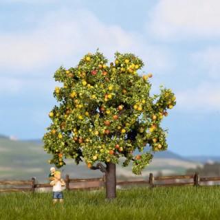 Pommier avec pommes 7.5 cm de haut-HO N-NOCH 21560