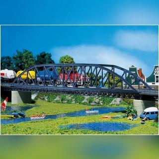 Pont à Arche type métallique-HO 1/87-FALLER 120482