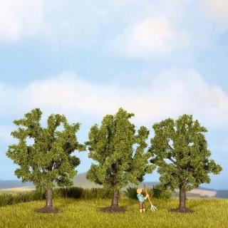 3 arbres de 4.5 cm de haut-N Z-NOCH 25510