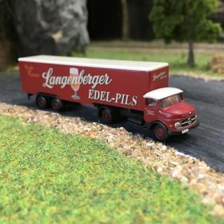 "Camion Mercedes L322 ""Langenberger""-N 1/160-MINIS LC3464"