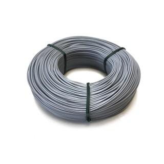 Fil gris souple cuivre 100ml 0.14mm² HERKAT 3678