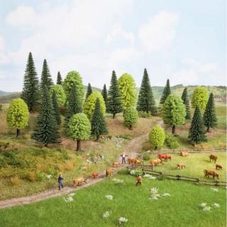 Forêt de 10 arbres 3.5 à 9 cm de haut-N Z-NOCH 32911