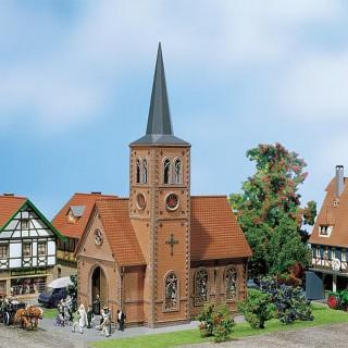 Eglise de village-HO-1/87-FALLER 130239