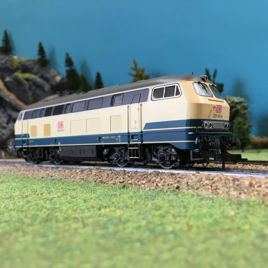 Locomotive S225 DB AG ép V-HO 1/87-FLEISCHMANN 424004