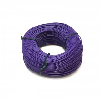 Fil violet souple cuivre 100ml 0.14mm² HERKAT 3679