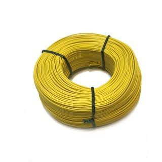 Fil jaune souple cuivre 100ml 0.14mm² HERKAT 3674