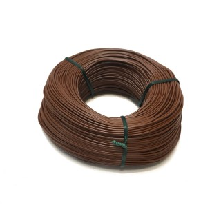 Fil marron souple cuivre 100ml 0.14mm² HERKAT 3677