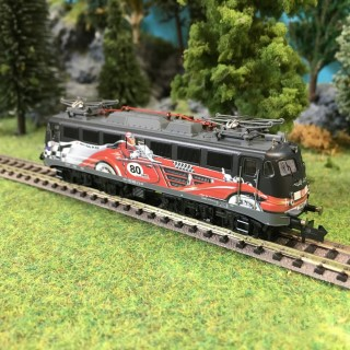 "Locomotive 115 509-2 ""80 ans AutoTrain"" DB digital son-N 1/160-FLEISCHMANN 733876"