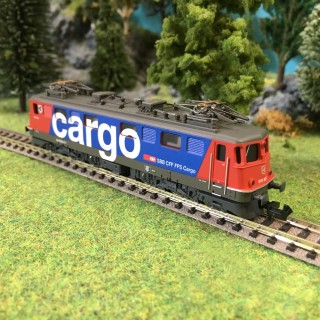 "Locomotive Ae 610 ""Cargo"" ép VI SBB CFF-N 1/160-MINITRIX 16261"