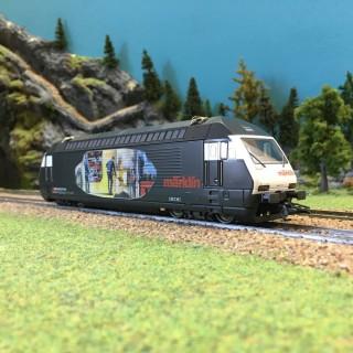 Locomotive S460 SBB-CFF 3R-HO-1/87-MARKLIN 3451 DEP111-007