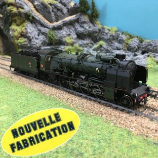 Locomotive 141 F 76 Annemasse Sncf ép III Nouvelle Fabrication-HO-1/87-REE MB-053
