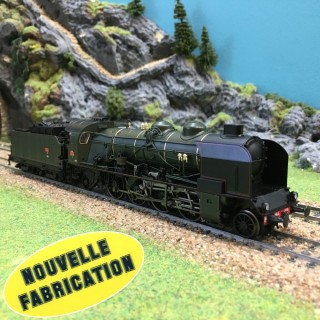 Locomotive 141 E 388 Clermont Sncf ép III Nouvelle Fabrication-HO-1/87-REE MB-051