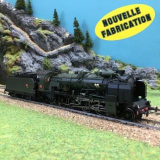 Locomotive 141 F 369 Montluçon Sncf ép III Nouvelle Fab digitale son-HO-1/87-REE MB-054S