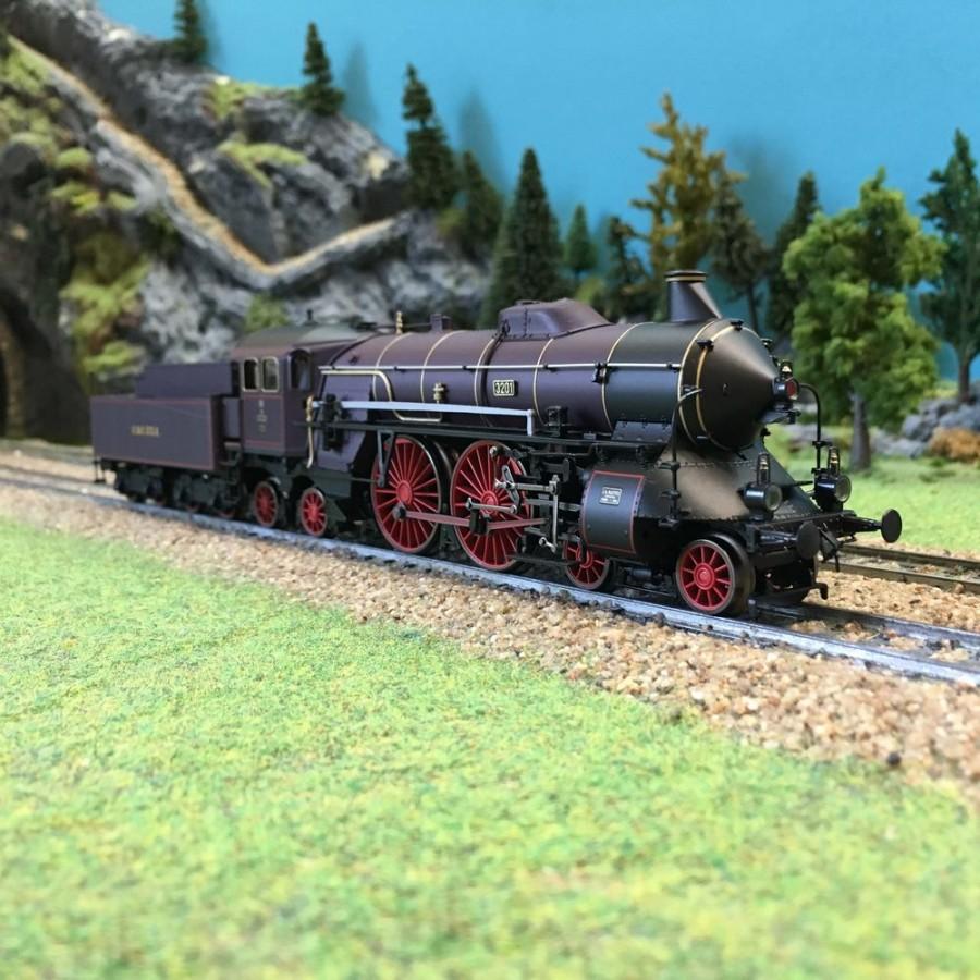 "Locomotive S2-6 ""Diva du Palatinat"" digitale sonore-HO-1/87-TRIX 22966"