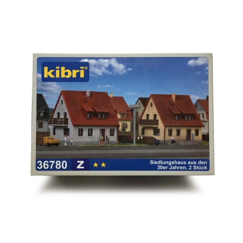 2 Pavillons Z 1 220 Kibri 36780