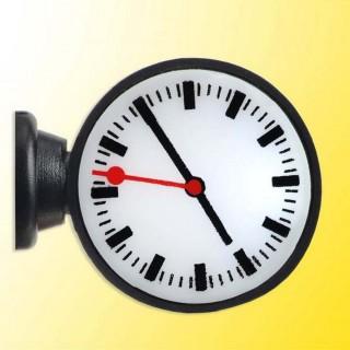 Horloge de quai de gare avec éclairage intégré -HO 1/87-VIESSMANN 1383