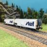 Coffret de 2 wagons frigo STEF SNCF ép V-HO-1/87-LSMODELS 30239