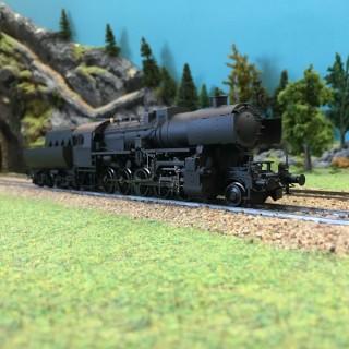 "Locomotive CL 52 ""Neutre"" ép II-III-HO 1/87-LILIPUT L131520"