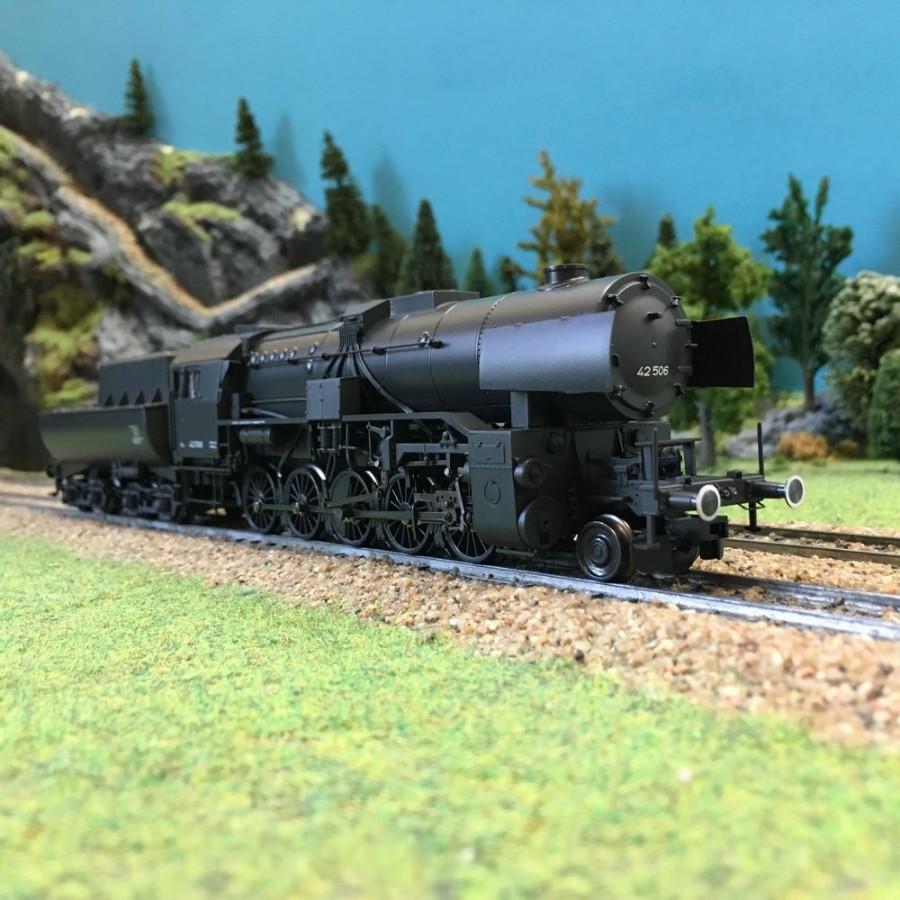 Locomotive S42 Tender bassine ép II DR digitale sonore-HO-1/87-TRIX 22225