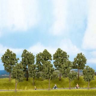 10 arbres dété 10 à 14 cm de haut-HO TT-NOCH 24205