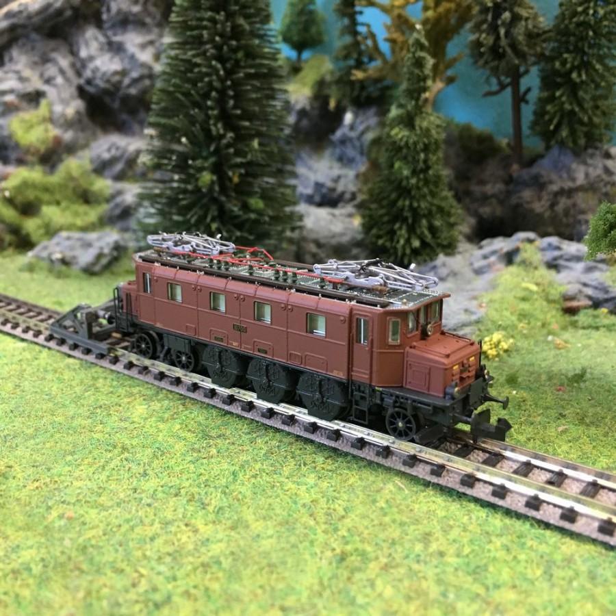 Locomotive E-Lok Ae 3-6 I ép IV SBB-N 1/160-PIKO 94003