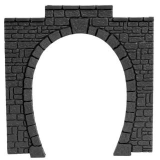 2 entrées de tunnel 1 voie-HO-1/87-NOCH 60010