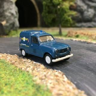 Renault 4L fourgonnette EDF-GDF-HO-1/87-BREKINA 14723