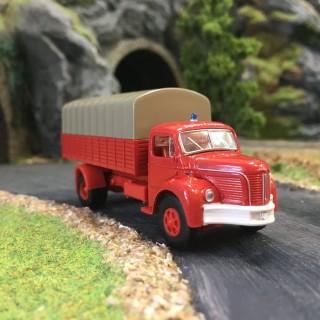 Berliet GLR 8 Sapeurs Pompiers-HO-1/87-BREKINA 85312