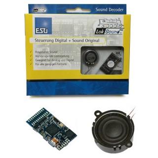 Décodeur sonore Loksound 21MTC V4.0 M4-HO-ESU-64499