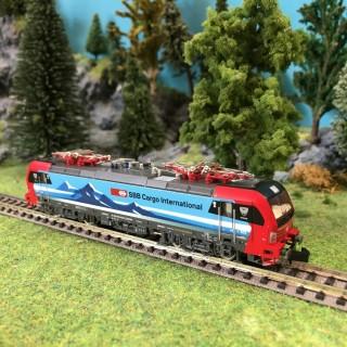 Locomotive BR193 Vectron Cargo Duisburg ép VI SBB-N 1/160-HOBBYTRAIN H2984