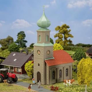 Eglise de village-HO 1/87-FALLER 131308