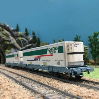 Coffret de 2 wagons Chrono froid ép V SNCF-HO-1/87-LSMODELS 30308