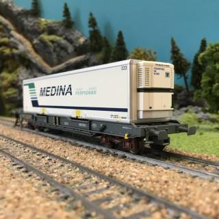 Wagon MEDINA ép IV SNCF-HO 1/87-LSMODELS 30312