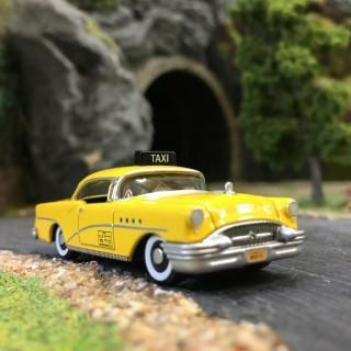 Buick Century 1955 Taxi NY-HO-1/87-OXFORD BUSCH 87BC55004