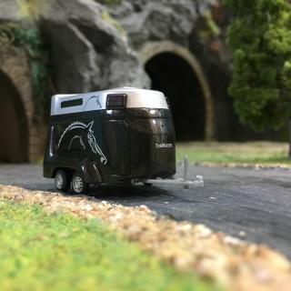 Van pour chevaux-HO 1/87-BUSCH 44944