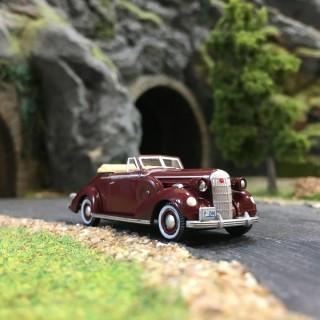 Buick Spécial Convertible 1936-HO 1/87-OXFORD BUSCH 87BS36003