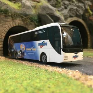Bus MAN Lion's Coach Europa Park-HO-1/87-RIETZE 65550