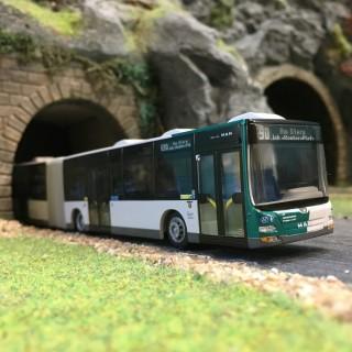 """Bus """"Accordéon"""" MAN Lion's City G-HO-1/87-RIETZE 72766"""