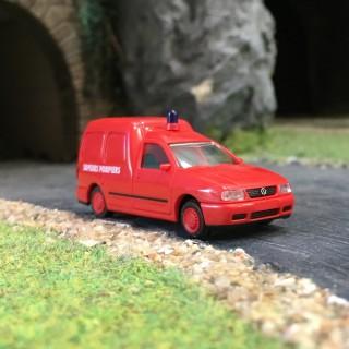 VW Caddy Pompiers-HO 1/87-RIETZE 50851