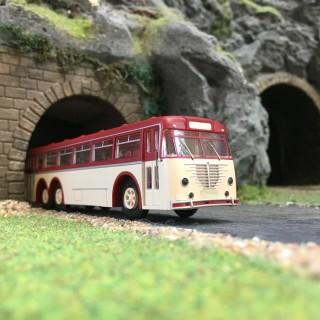 """Bus """"Bussing"""" 12000 T-HO 1/87-BREKINA 59421"""