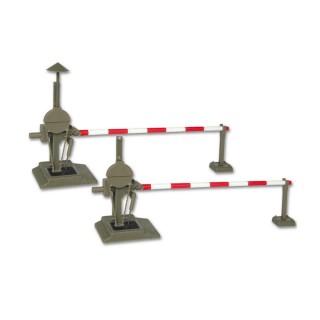 Barrières de passage à niveau entièrement automatiques-HO 1/87-VIESSMANN 5100