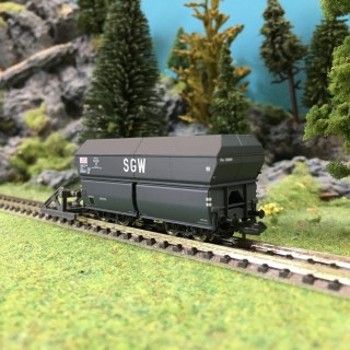 Wagon trémie SGW SNCF-N 1/160-BRAWA 67038