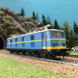 Locomotive Rh 2800 ép IV SNCB digital son-HO 1/87-PIKO 96562