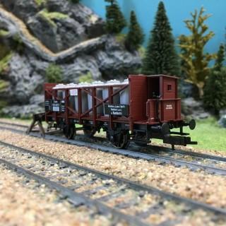 Wagon transport d'acide KPEV ép I-HO 1/87-FLEISCHMANN 522106
