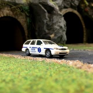 Taxi-Ambulance Ford Mondéo-HO 1/87-RIETZE 50592