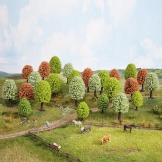 25 arbres de printemps 5 à 9 cm de haut-HO-NOCH 26806
