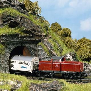 2 entrées de tunnel-N 1/160-FALLER 272578