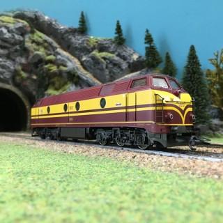 Locomotive diesel 1801 CFL-HO 1/87-MARKLIN 83468 DEP103-156