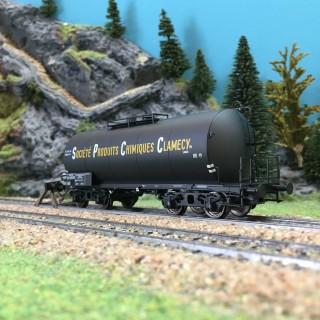 Wagon citerne SPC-CLAMECY ép III SNCF-HO 1/87-BRAWA 48934